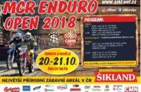 20. – 21.10.2018 – MČR Enduro Sprint Open – Šiklův mlýn