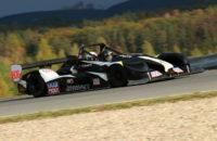 David Komárek vyhrál letošní poslední závod MREC v autoslalomu. Tomáš Homola absolutním vítězem celé sezóny.