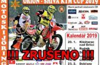 ZRUŠENO !!!! – 3.2.2019 – Mistrovství ČR a Orlický pohár v motoskijöringu – Dalečín