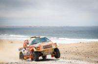 Osmá etapa Rally Dakar 2019 : Potlučený Prokop drží stále 7. místo. Ouředníček si polepšil a Kolomý s Plným bojují dál.