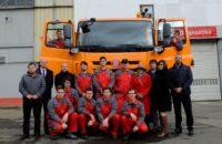 Tatra Phoenix postavená třebíčskými studenty poprvé nastartovala a bude sloužit u silničářů na Vysočině