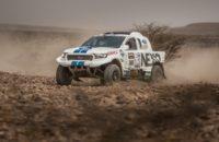 Čtvrtá složitá etapa Marocco Desert Challenge přinesla pro Tomáše a Davida skvělý výsledek.