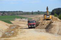 Obchvat Nového Veselí: 5,5 kilometru nové silnice už má v terénu viditelnou trasu