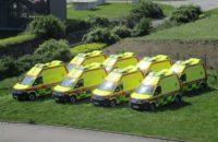 Osm nových sanitek pro krajskou záchranku