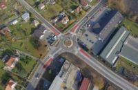 Průjezd Humpolcem zjednoduší nová okružní křižovatka