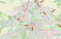 Od pondělí 19. dubna 2021 bude v Třebíči komplikovat dopravu uzavírka na ulici Taborská.
